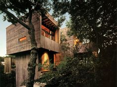 WANKEN - The Blog of Shelby White » Bates Masi Architects Fire Island Tree House #wood #architecture