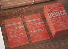 device creative collaborative #device #identity #branding #red