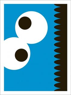 SYMBOL SOCIETY — The Streets - Number 3 #sesame street #the streets no #cookie monster