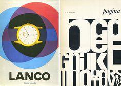 Bob Noorda #flat #typography