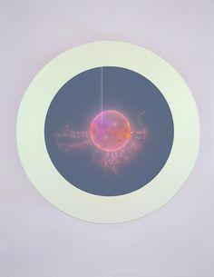 Art exhibition \'\'Rebirth\'\' a art instalation by Mariko Mori detail 2 from \'\'Miracle\'\'