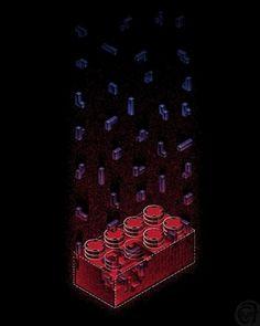 Mintees - Tees - #isometric #lego #tetris #illustration #game