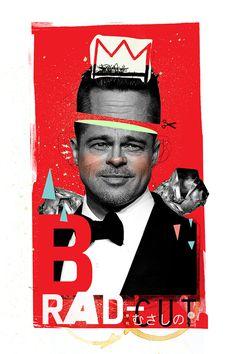 brAd-PIE #collage #illustration #bto #buentypo