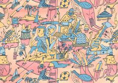 www.matthewthehorse.co.uk #illustration #patterns