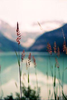 nature, lake, mountain