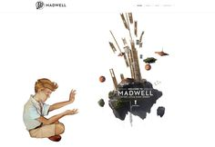Madwell | A Tiny Little Giant Agency #design #web #parallax