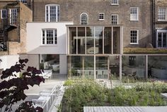 East London House by David Mikhail Architects #architecture #brick #wood #facades