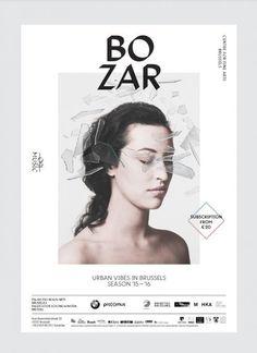 BOZAR - Coast #poster #rebranding #typeface
