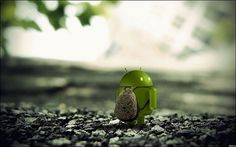 Sad-Android-Robot110902133530.jpg 650×406 pixels #miniature #photograph #scene #android #sad