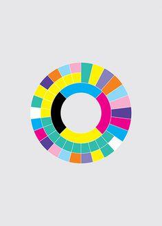 Peter Saville Colour Exhibition #grid