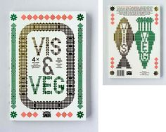 Vis en Vega : Studio Laucke Siebein #illustration #pointilism