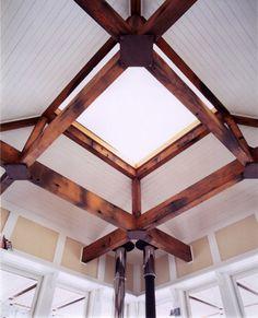AIA - Montana, Design Awards -- Judith Mountain Cabin - Prairie Wind Architecture #interior #design #beams #wood #cabin