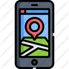 See more icon inspiration related to maps and location, ui, map location, placeholder, electronics, navigation, smartphone, geolocalization, pin, interface, signs, location, gps, mobile and technology on Flaticon.