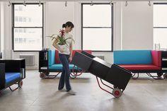 Pushcart Furniture Series for Cornell University, New York 7