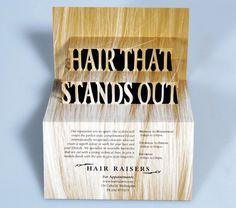 Hair Raisers #pop #up #popup #3d #brochure