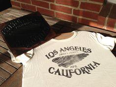 t shirt printing #wing #la #moto #tee