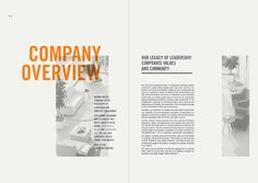 Annual Report on Behance #annual report #spread