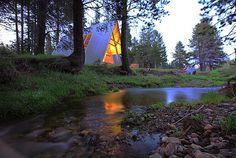Far Meadow: Contemporary A-Frame Cabin Rentals #interior #design #architecture