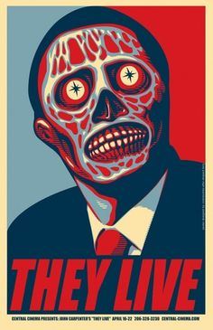 Let Me Draw My Stuff For You!: They Live Posters