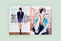Lotta Nieminen #cover #handwriting #magazine