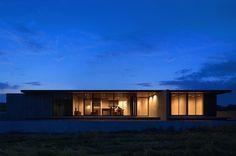 One-story Building of Nakatsu by Matsuyama Architects and Associates #modern #design #minimalism #minimal #leibal #minimalist