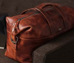 Leather 48HR Bag