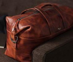 Leather 48HR Bag
