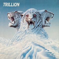Trillion.jpg (1417×1417) #album #mountain #lion #head #illustration #vinyl #3 #art #music #god #queen