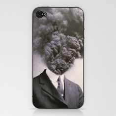 Outburst by J U M P S I C K ▼▲ #photo #design #retro #iphone #cellphone #vintage #blow #tie