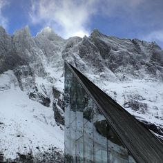 CJWHO ™ (The new visitor center in Trollveggen, Norway by...) #norway #center #design #landscape #photography #architecture #trollveggen #visitor