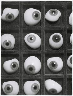 surreal of the day:Herbert Bayer ~Glas augen,1928[few more before]
