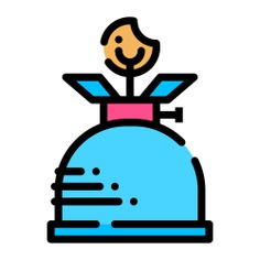 See more icon inspiration related to furniture and household, flame, camping, gas, fire, , cook and cooking on Flaticon.