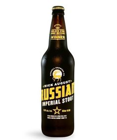 Rick August Russian Imperial Stout #beer #bottle
