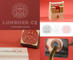 Lumburr by Ben Johnston and Mark Simmons #mark #branding #indian #logoform #logo