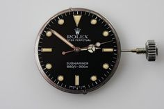 bear naked #clock #rolex #submariner #black