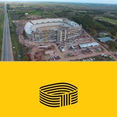 #Structure #Stadium #Logo #Brand #Penarol #Uruguay