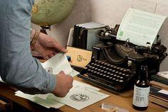 Bureau Bruneau #branding #photography #typewriter #westerdals #bruneau