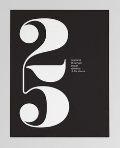 25 – anniversary card