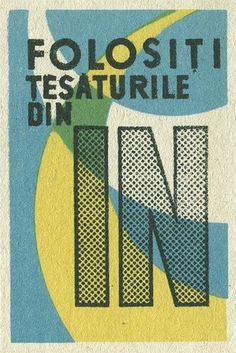 Romanian matchbox label | Flickr - Photo Sharing! #matchbox #label