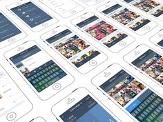 iPhone App Design by http://ramotion.com #user #ux #8 #application #design #interface #screens #ui #experience #iphone #app #ios #gui #wireframes