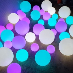 LED Glowing Orbs