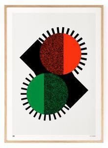 Outlined.cc Limited Edition Artwork Counterbalance No.1 art geometric print design artprint wallart