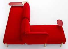 Sofa System by Patricia Urquiola for moroso #furniture #sofa
