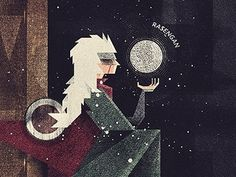 Dribbble - Ero Senin by Dan Matutina #vector #sage #illustration #naruto #pervy