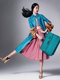 Tian YiStockton JohnsonVogue China November 2013 #fashion #model #photography #girl