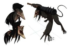 Xeres by manic-in-tricolour on deviantART #hell #xeres #creature