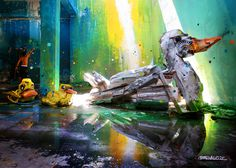 Street Art Made From Trash Objects