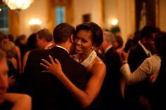 Dancing at the White House during the Governors Ball in February 2009.