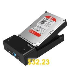 ORICO #6518US3 #- #V1 #USB #3.0 #External #Hard #Drive #Enclosure #- #BLACK