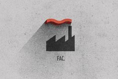 Record Label Rebrands on Behance #logo